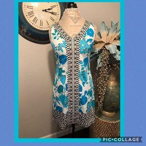 Maggy London Tropical shift Dress Size 6P